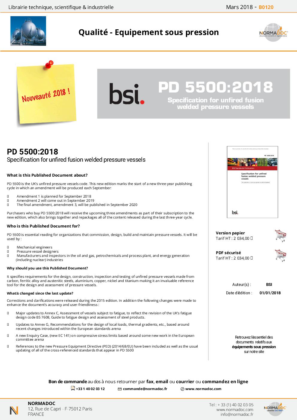 PD 5500:2015