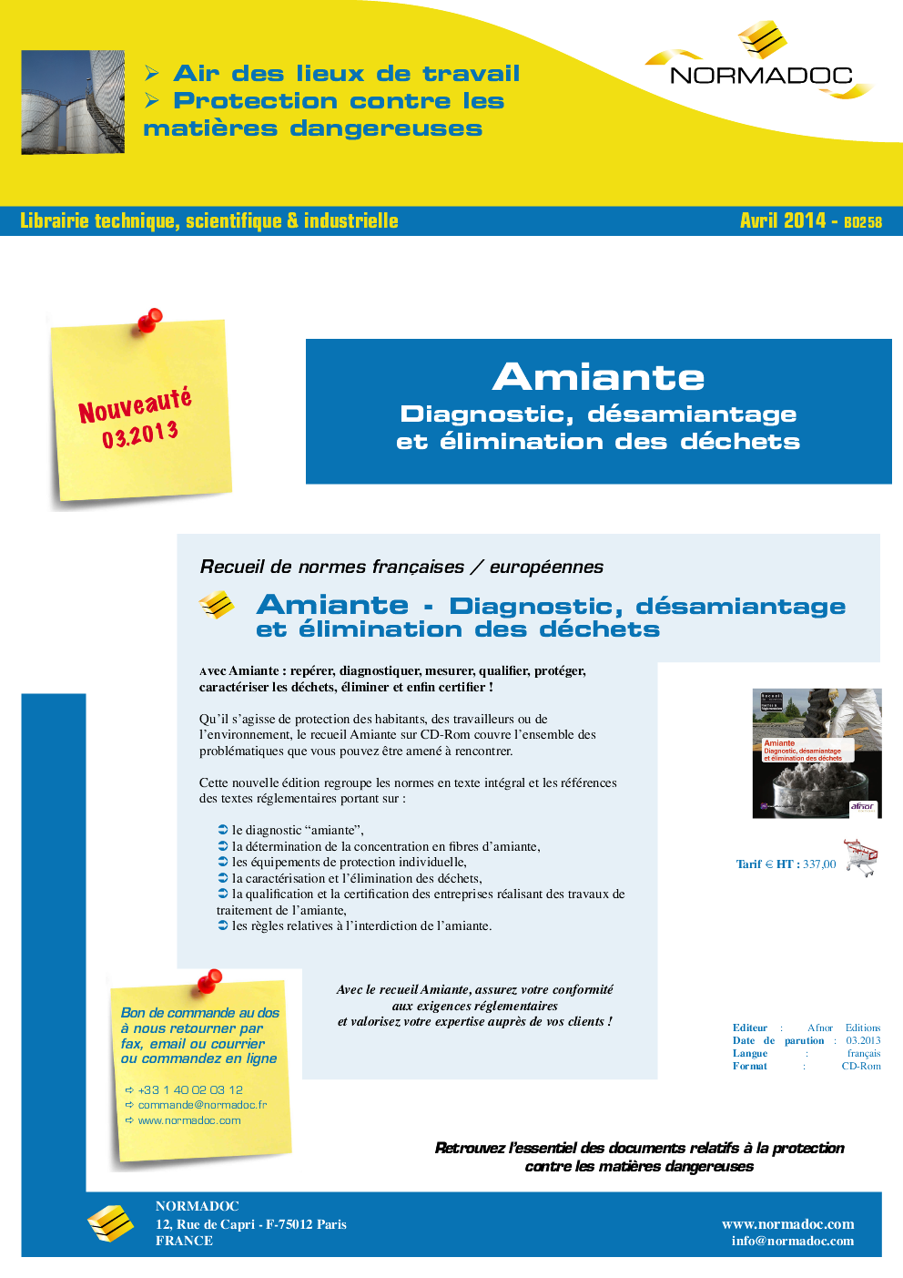 Diagnostic amiante et diagnostics immobiliers légaux