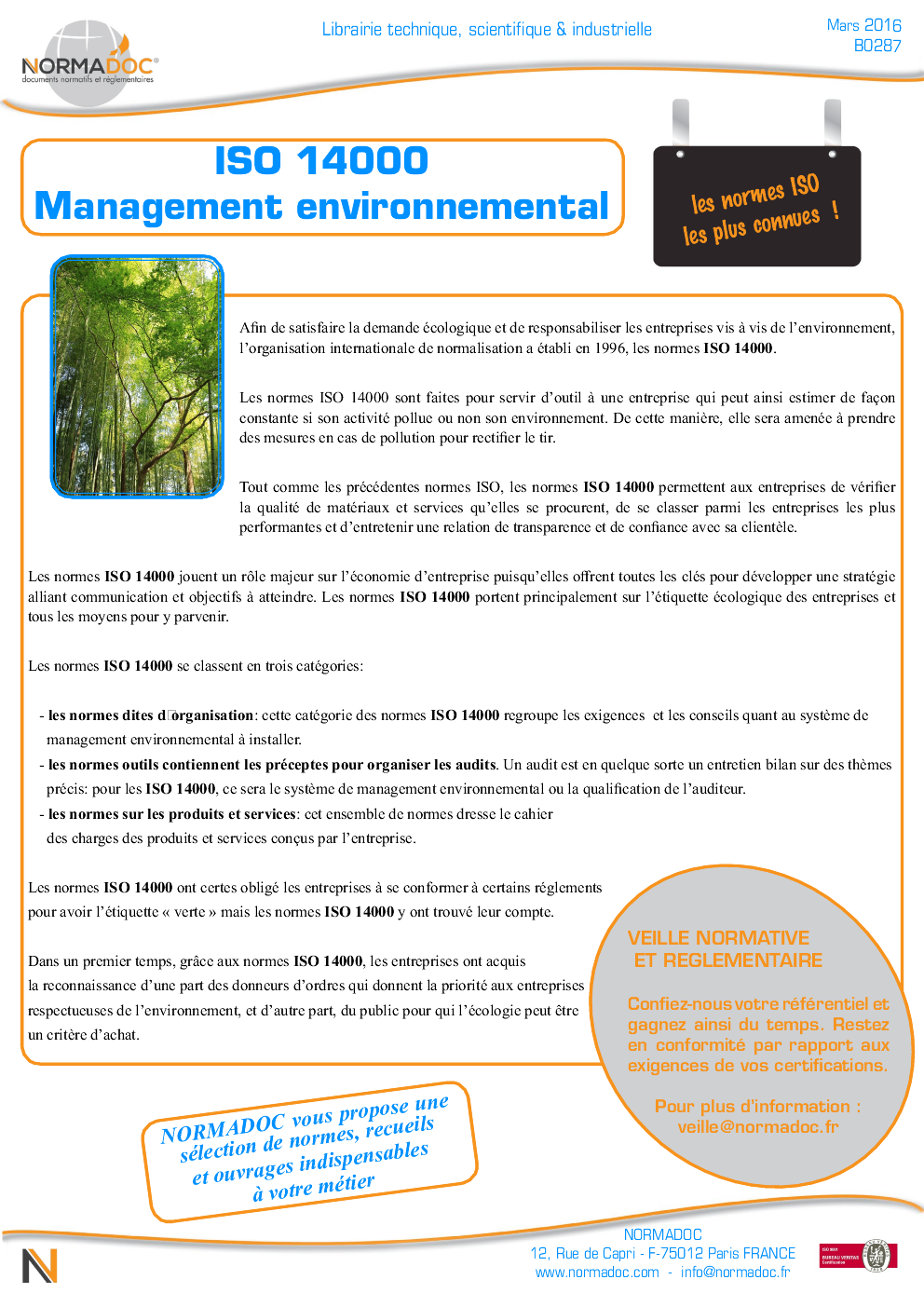 ISO 14000 - Environmental management