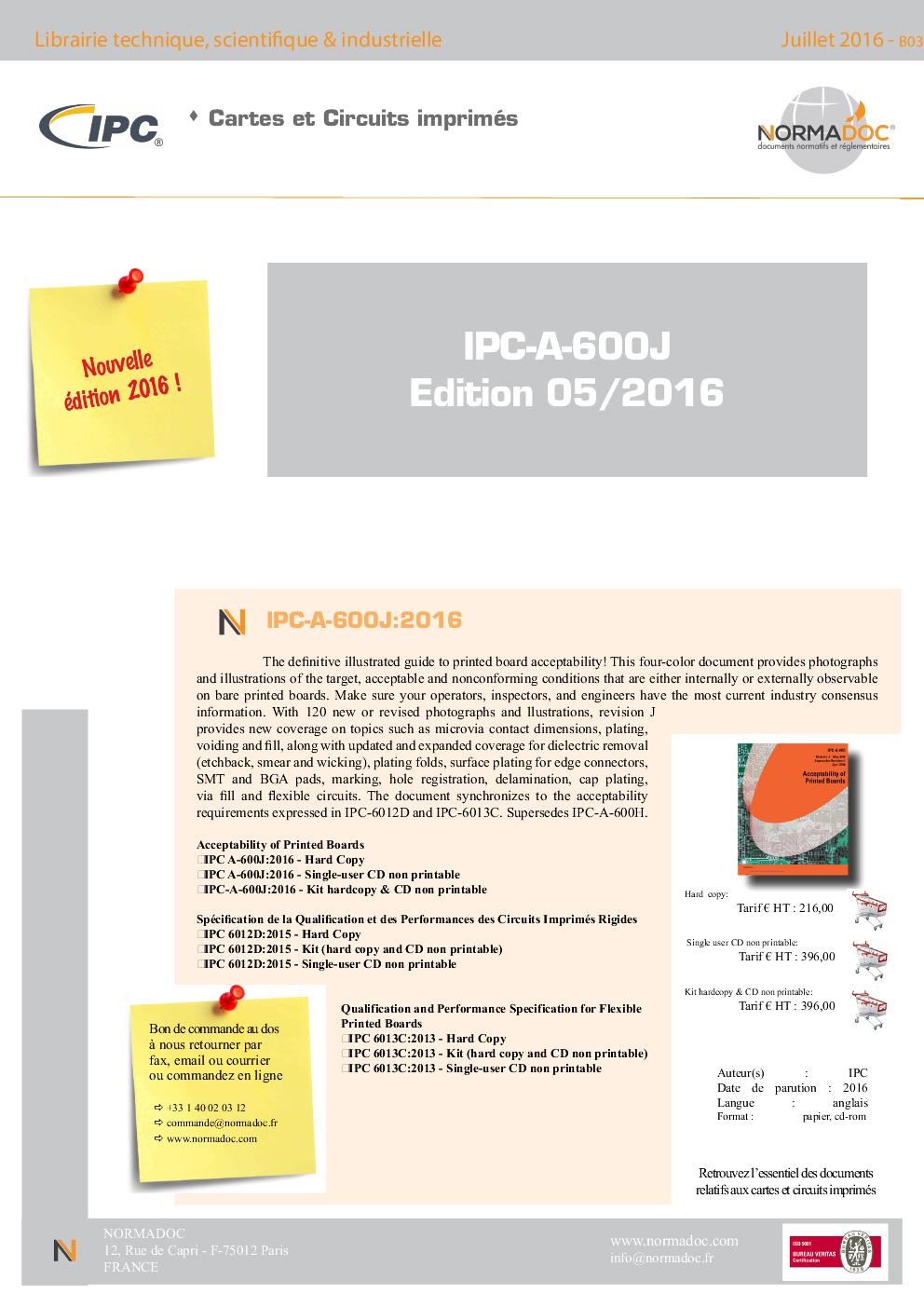 IPC-A-600J:2016