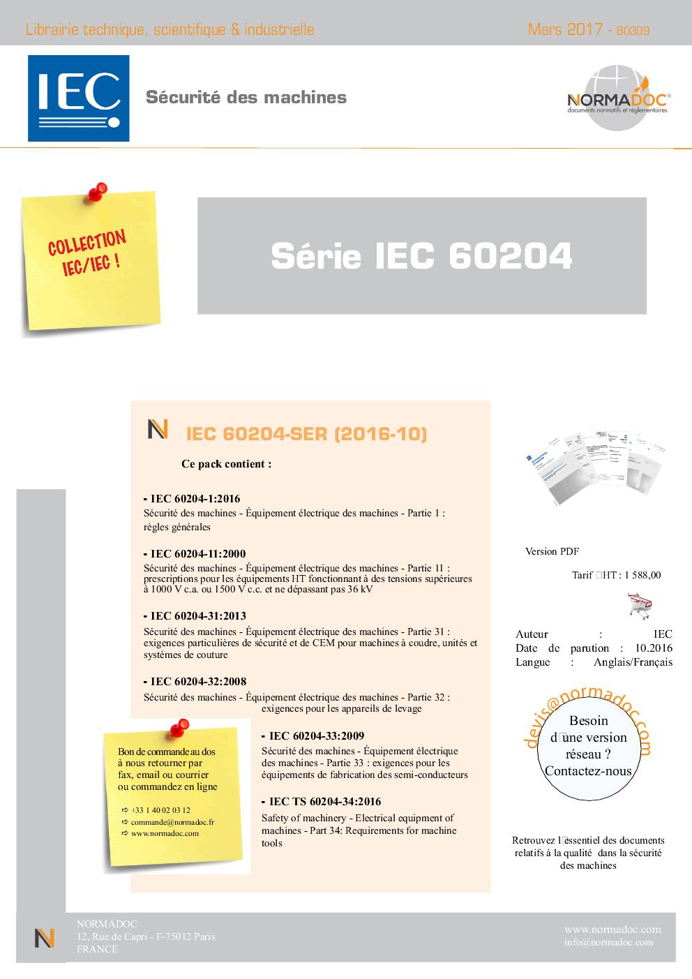 IEC 60204 Series