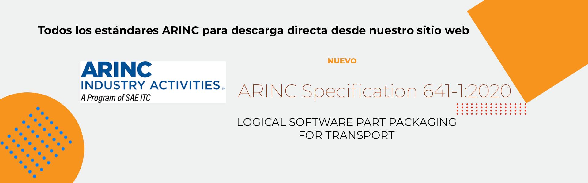 ARINC Industry Activities normas