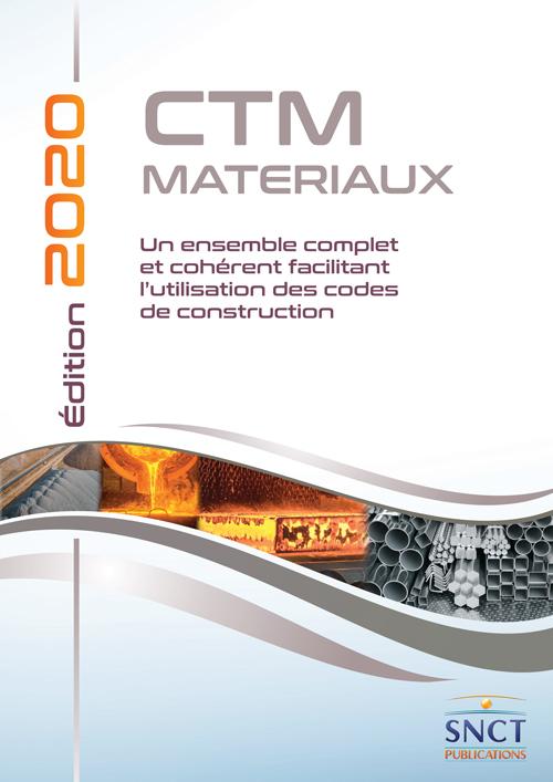 SNCT CTM Materiaux edition 2020