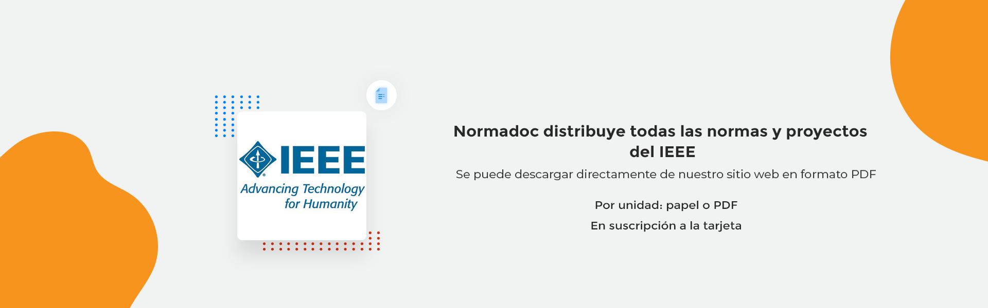 Normas y proyectos IEEE