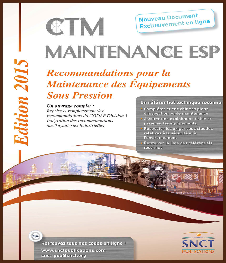 SNCT Maintenance ESP edition 2015