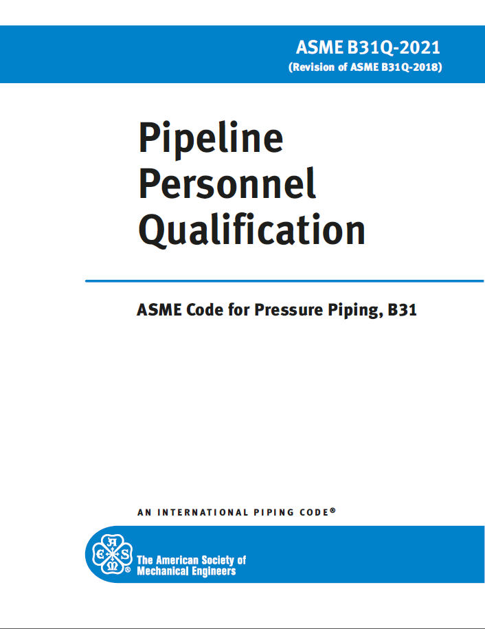 Pipeline Personnel Qualification