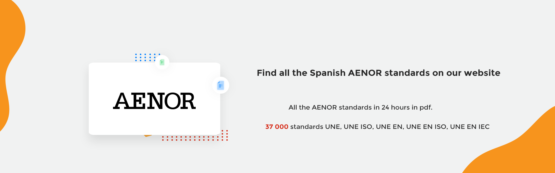 AENOR standards spanish UNE UNE EN ISO IEC